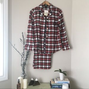 NWT Ralph Lauren Red Plaid Pyjama/PJ/Pajama Set